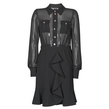 Kleidung Damen Kurze Kleider Marciano CAROL SHORT DRESS Schwarz