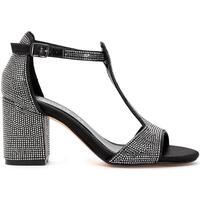 Schuhe Damen Sandalen / Sandaletten Café Noir GLD912 NERO