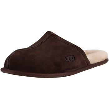Schuhe Herren Hausschuhe UGG Scuff Slippers braun