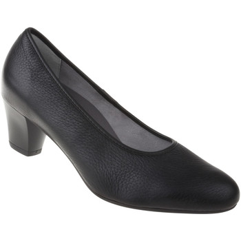 Schuhe Damen Pumps Natural Feet Pumps Cathrin Farbe: schwarz schwarz