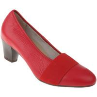 Schuhe Damen Pumps Natural Feet Pumps Janine Farbe: rot rot