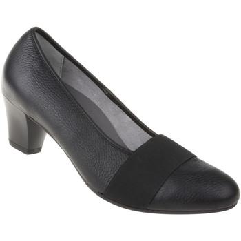 Schuhe Damen Pumps Natural Feet Pumps Janine Farbe: schwarz schwarz