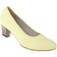 Schuhe Damen Pumps Natural Feet Pumps Cathrin Farbe: gelb gelb
