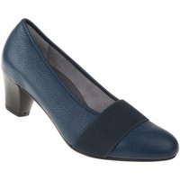 Schuhe Damen Pumps Natural Feet Pumps Janine Farbe: blau blau