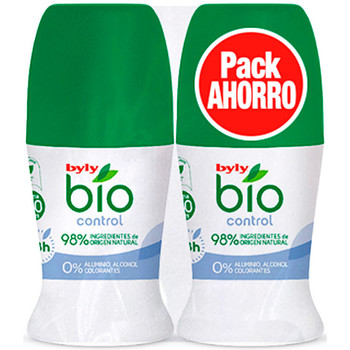 Beauty Deodorant Byly Bio Natural 0% Control Deo Roll-on Set 2 Pz 2 u