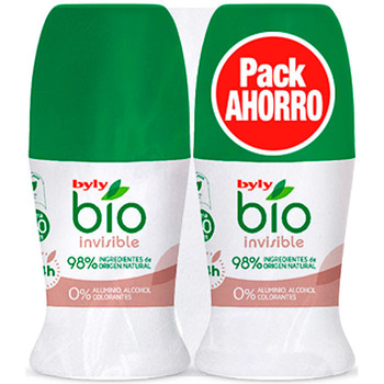 Beauty Deodorant Byly Bio Natural 0% Invisible Deo Roll-on Set 2 Pz 2 u