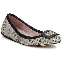 Schuhe Damen Ballerinas Fornarina LYZA Schwarz / Weiss / rosa