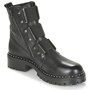 Schuhe Damen Boots Philippe Morvan HARMY V1 ROMA NOIR Schwarz
