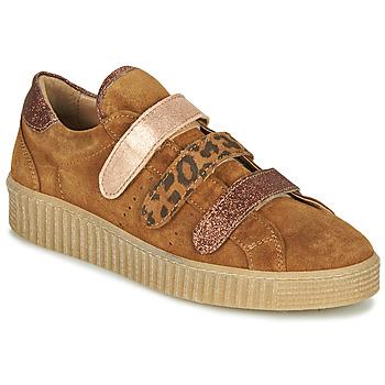 Schuhe Damen Sneaker Low Philippe Morvan ZEUS2 V1 SILKY CAMEL Braun