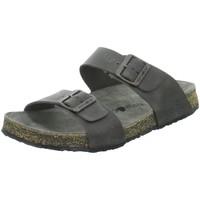 Schuhe Damen Pantoffel Haflinger Pantoletten Pantoletten ANDREA 819016-730 grau