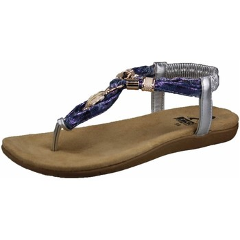 Schuhe Damen Zehensandalen Cosmos Comfort Sandaletten Sandale 8018-805-21 blau