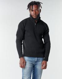 Kleidung Herren Pullover Schott PLECORAGE2 Schwarz