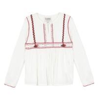 Kleidung Mädchen Tops / Blusen Chipie 8R12014-19 Weiss
