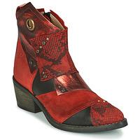 Schuhe Damen Low Boots Casta DEMA Rot