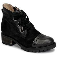 Schuhe Damen Boots Casta MANDA Schwarz