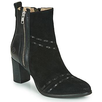 Schuhe Damen Low Boots Casta SINA Schwarz