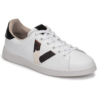 Schuhe Damen Sneaker Low Victoria TENIS PIEL Weiss