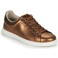 Schuhe Damen Sneaker Low Victoria TENIS METALIZADO Bronze