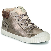 Schuhe Mädchen Sneaker High Victoria HUELLAS METAL Silbern