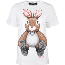 Kleidung Damen T-Shirts Domrebel  Weiss