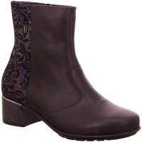 Schuhe Damen Low Boots Waldläufer Stiefeletten 946802-203-299 Hafren schwarz