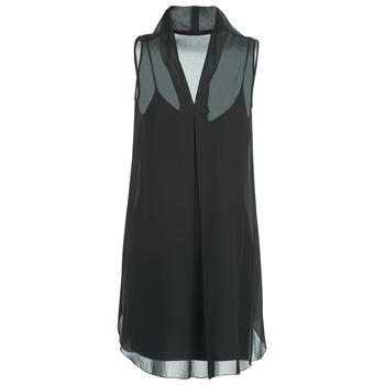 Kleidung Damen Kurze Kleider Naf Naf E-LALY Schwarz