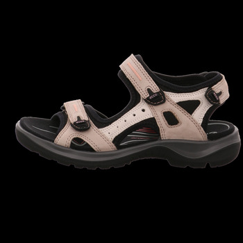 Schuhe Damen Wanderschuhe Ecco Sandaletten Sandalette OFFROAD 069563 54695 weiß
