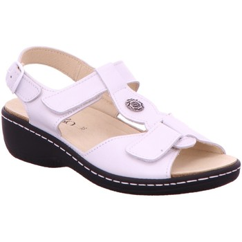 Schuhe Damen Sandalen / Sandaletten Longo Sandaletten 1022116 weiß