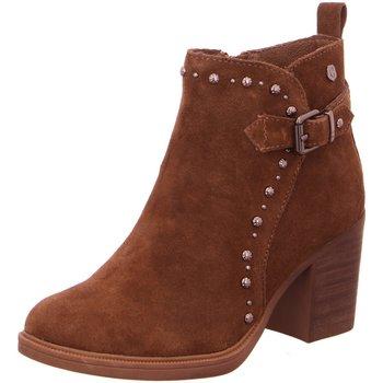 Schuhe Damen Low Boots Carmela Stiefeletten 06683402 braun