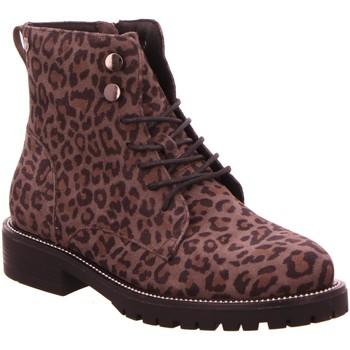 Schuhe Damen Low Boots Carmela Stiefeletten 06686002 beige