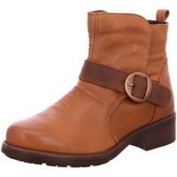 Schuhe Damen Low Boots Macakitzbühel Stiefeletten 2503 braun