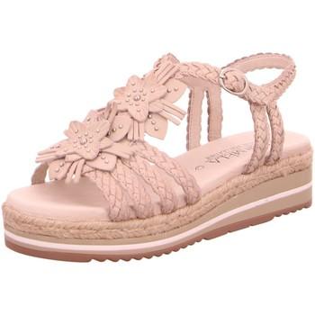 Schuhe Damen Sandalen / Sandaletten Carmela Sandaletten 06722801-S12A beige