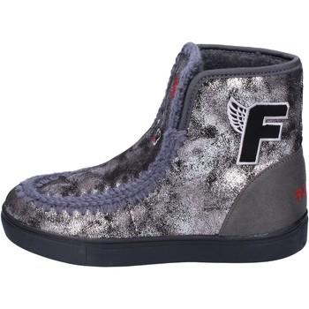 Schuhe Mädchen Low Boots Fiorucci BM419 grau