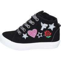 Schuhe Mädchen Sneaker High Fiorucci BM420 schwarz