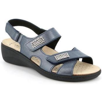Schuhe Damen Sandalen / Sandaletten Grunland DSG-SE0416 BLU