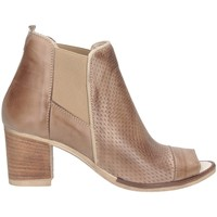 Schuhe Damen Ankle Boots Made In Italia 312 Stiefeletten Frau Taupe Taupe