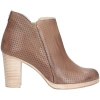 Schuhe Damen Ankle Boots Made In Italia 01 Stiefeletten Frau Taupe Taupe