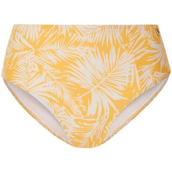 Kleidung Damen Bikini Ober- und Unterteile Beachlife Palm Glow  Badeanzug-Hose mit hoher Taille Khaki