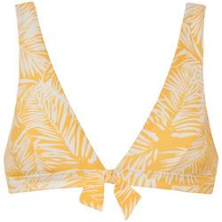 Kleidung Damen Bikini Ober- und Unterteile Beachlife Palm Glow  Triangel-Badeanzug-Top ohne Bügel Khaki
