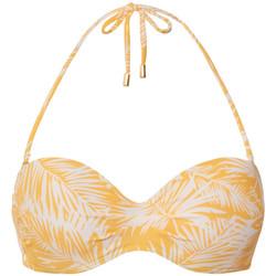 Kleidung Damen Bikini Ober- und Unterteile Beachlife Vorgeformtes Bandeau-Badeanzug-Top von Khaki