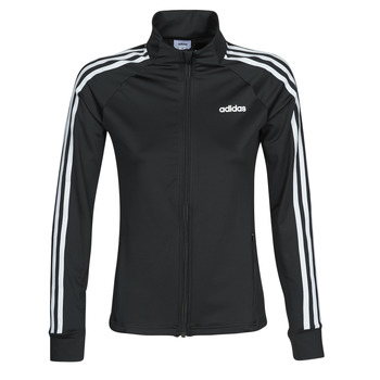 Kleidung Damen Trainingsjacken adidas Performance W D2M 3S TT Schwarz
