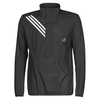 Kleidung Herren Sweatshirts adidas Performance OWN THE RUN JKT Schwarz