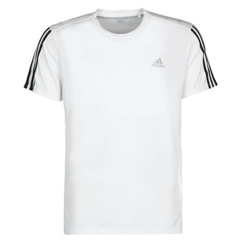 Kleidung Herren T-Shirts adidas Performance RUN IT TEE 3S M Weiss