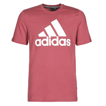 Kleidung Herren T-Shirts adidas Performance MH BOS Tee Rot / Heritage