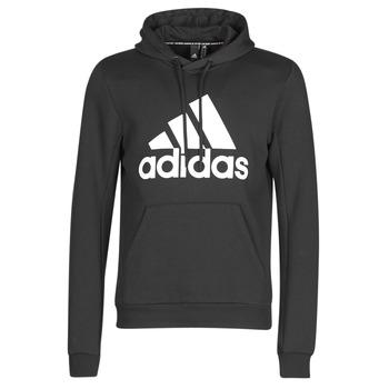Kleidung Herren Sweatshirts adidas Performance MH BOS PO FL Schwarz