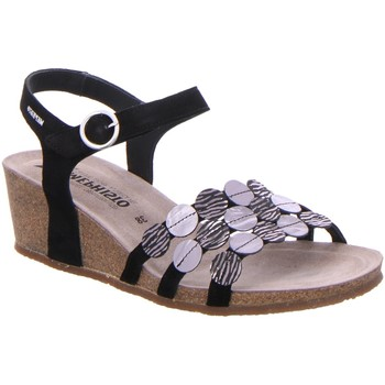 Schuhe Damen Sandalen / Sandaletten Mephisto Sandaletten MATILDE VELC.P. black P5133423 schwarz