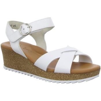 Schuhe Damen Sandalen / Sandaletten Paul Green Sandaletten 7577 weiß