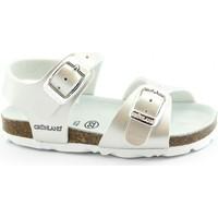 Schuhe Kinder Sandalen / Sandaletten Grunland GRU-E20-SB0392-PE Argento