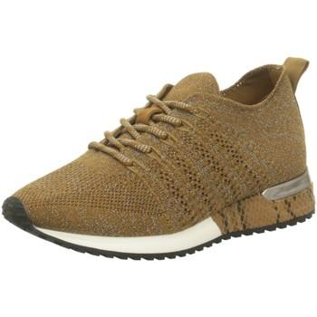 Schuhe Damen Sneaker Low La Strada Schnuerschuhe NV,black 1832649-4526 braun
