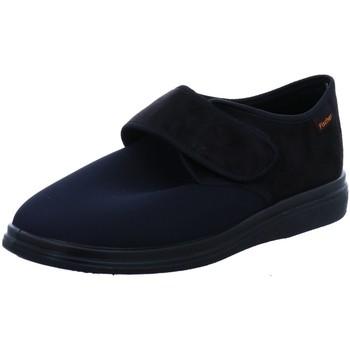 Schuhe Herren Hausschuhe Fischer Schuhe Klett-Husschuh 13948-222 schwarz